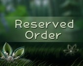 Reserved Order - Quantity of 5 - Emerald Starburst Brooches