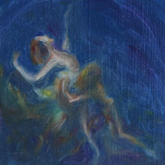 Midsummer Night's Dream, Abstract, Print of Original Painting