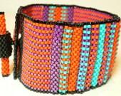 Tangerine dreams cuff bracelet