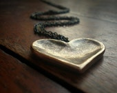 Heart Worn Necklace II  (Chains)