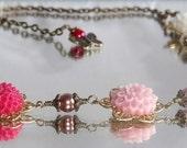 """Oriental Garden Necklace  (""""7"""")"""
