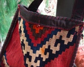 HIPPIE BAG / Navajo Unisex -BoHo, Ethnic--RESERVED for Tracy