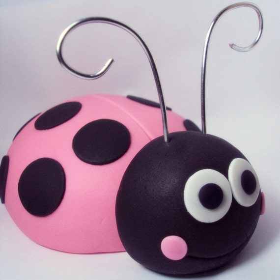 Giant Ladybug Cake Topper or Party Table Centerpiece for Birthdays, Baby Showers and other events