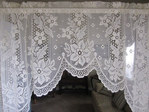Lace Curtains A Signed Piece Of Paper