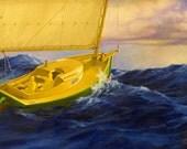 Catboat Homeward Bound
