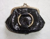 Little black clutch from the 70ies