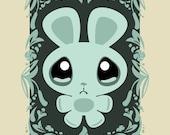 Sad Bunny - Limited Edition Mini Print