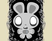 Undead Bunny - Limited Edition Mini Print