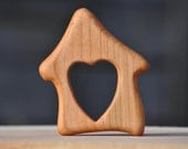 Wooden Born at Home Teether - Homebirth Teether