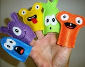 Monster Finger Puppet Collection