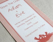Wedding Save the Date (sample) - Love Nest Collection