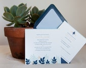 Fern Collection Invitation and RSVP (sample)