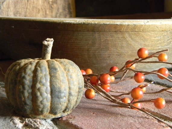 Blackened Beeswax Pumpkin  #304