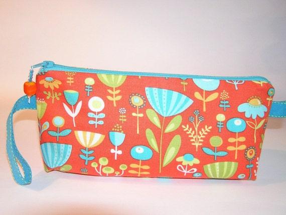 Orange Poppy Dot Mia Bag