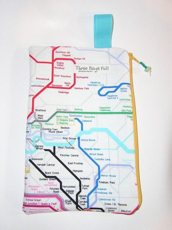 London Underground eBook Reader Case