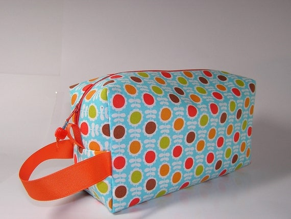 Retro Daisies Project Bag