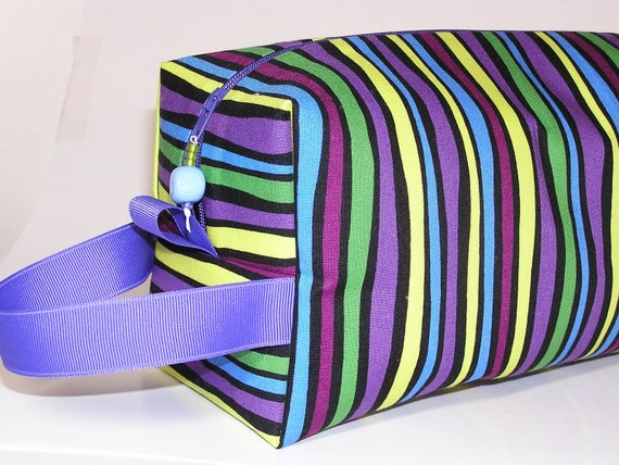 Grape Stripe Project Bag