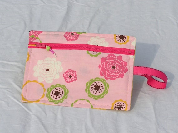 Pink Circles Accessory Case