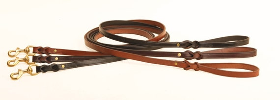 Traditional Bridle Leather Leash