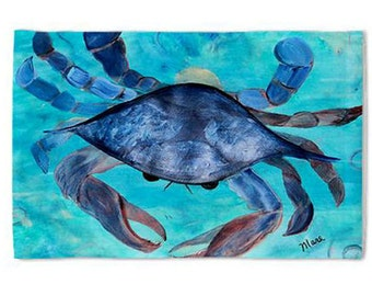 Blue Crab Pillow Case from my original art