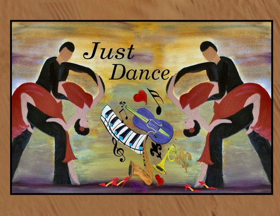Just Dance indoor / outdoor floor mat. Available in 3 sizes