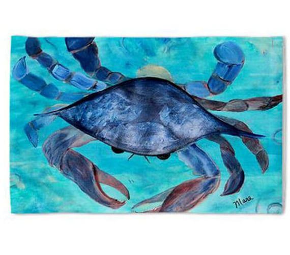 Blue Crab Pillow Case from my original art