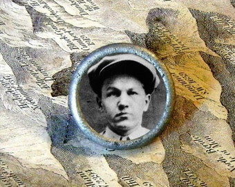 BABY FACE NELSON Wanted TIE TACK or Ring