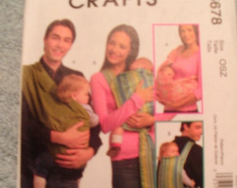 McCall's  -  Baby Carrier   (M5678)  new