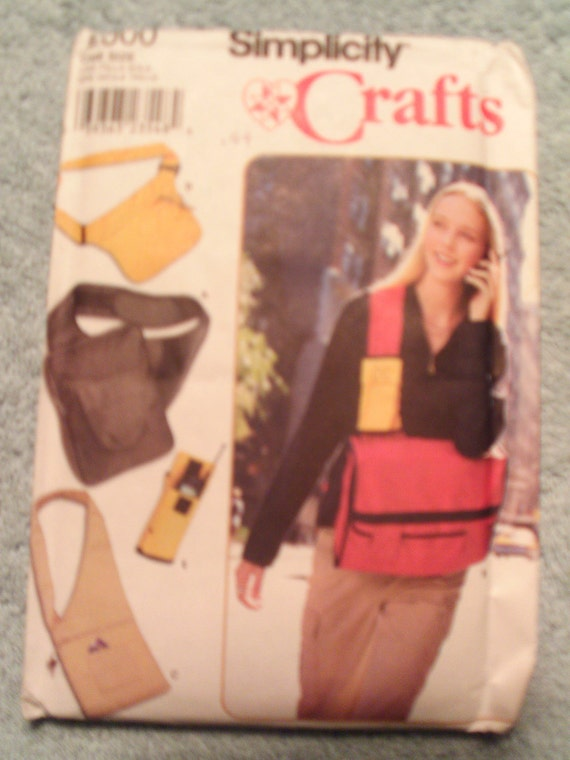 Simplicity  -    Bags and cell phone holder (9000)  new