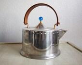 RESERVED FOR JOYCE Mid Century Modern Stainless Steel Tea Pot Bodum C Jorgensen