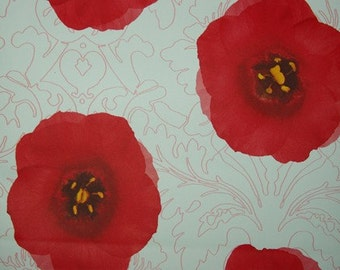 Self-Adhesive Interior Film Red flowers(DC-1325-1)