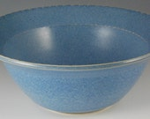 Bowl - Bright Sky Blue glaze