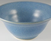 Bowl - Bright Sky Blue Blue Glaze
