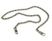 48 Inch Nickel Purse Chain With Hooks FREE U.S. SHIPPING