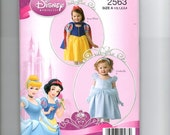 Cinderella and Snow White costumes for size 1/2-4   S2563