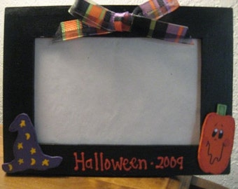 HALLOWEEN 2015 - Personalized Halloween holiday photo picture frame