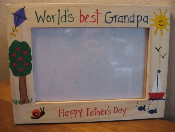 WORLD'S BEST GRANDPA - Father's Day photo, picture frame