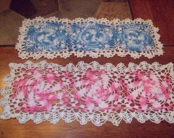 Set of Two Vintage Doilies