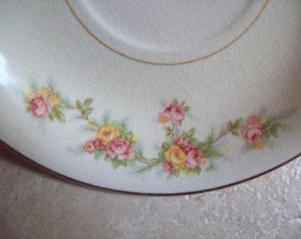 Set of Six Vintage Homer Laughlin Plates