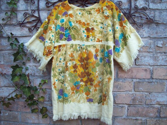 Vintage 1960's Towel Dress-Cannon Royal Family