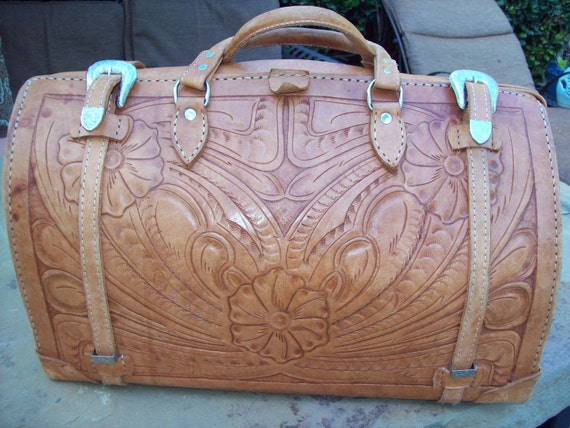 Tooled Leather Luggage | Luggage And Suitcases