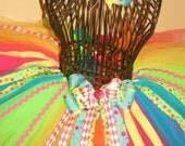 FRUIT LOOPS CIRCUS TUTU FOR GIRLS SIZES 1-8