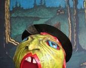 Vintage Style Halloween Witch Luminaria