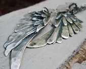 blackbird... artigiano silver wings necklace