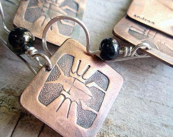 arthropod earrings