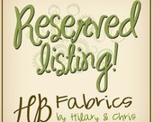 Reserved Listing for TheBelovedBaby ...