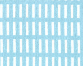 SALE Aneela Hoey, Dash Stripes in Blue Bell from a Walk in the Woods for Moda - 1 yard listing
