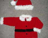 PDF crochet Santa suit PATTERN includes 5 sizes