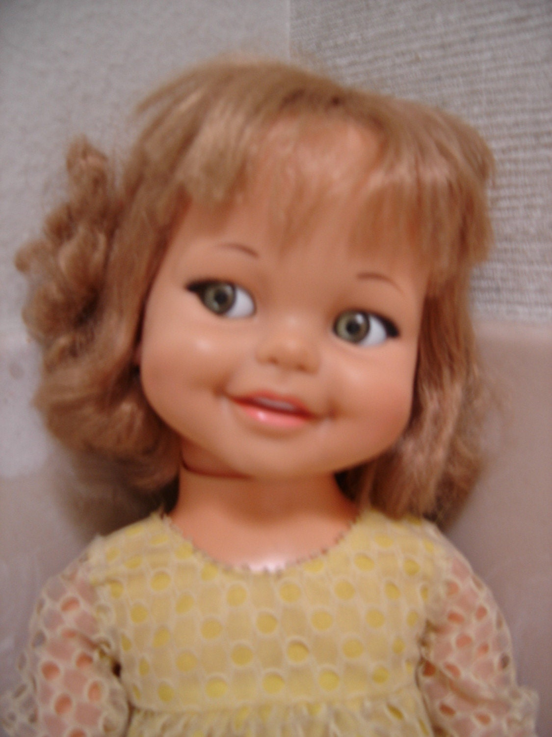 Vintage 1966 Giggles Doll By Ideal Toy Corp By