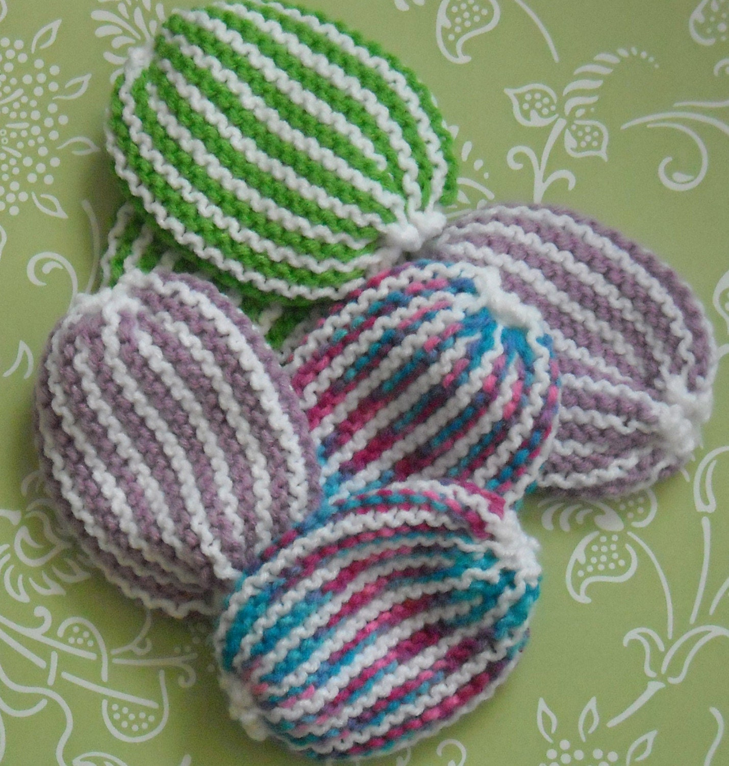 CLEARANCE SALE Knitted Dish Scrubbies 2 for 5 by ...